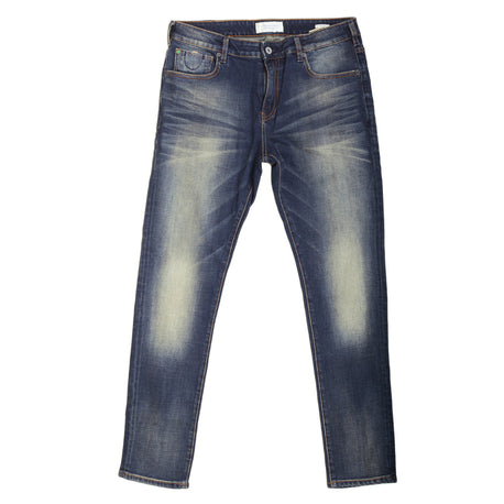 Scotch & Soda Skinny Fit Hard Wash Blue Denim Jeans