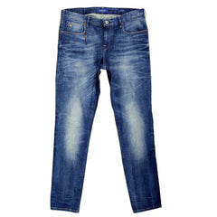 Scotch & Soda Slim Fit Catch Lower Rise Blue Stretch Denim Jeans