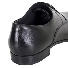 Black Hugo Boss Derby Shoes