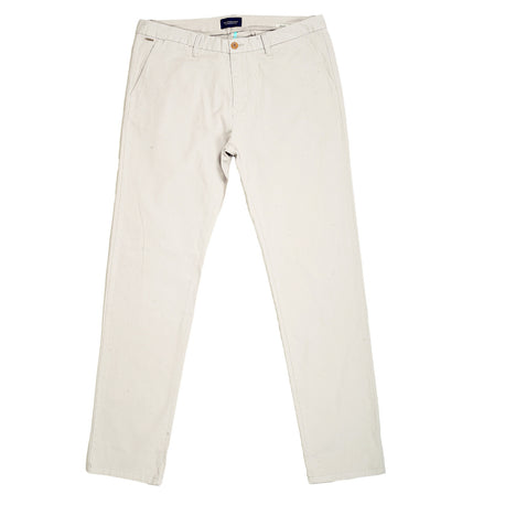Scotch & Soda Trousers Regular Slim Fit Stone Stuart Stretch Chinos - Kitmeout