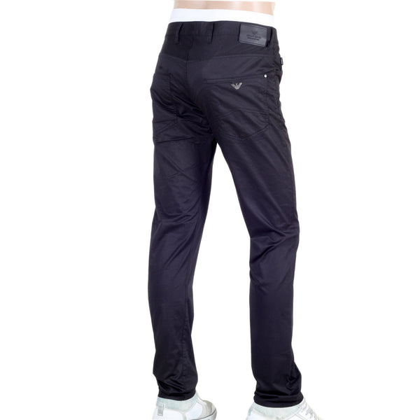 J10 Extra Slim Fit Black Armani Jeans