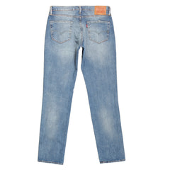 Levis Iron Harbour lim Fit Jeans in Light Blue with Zip Fly