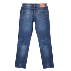 Levis Iron Brutus Washed Mid Blue Low Waist Jeans with Slim Fit
