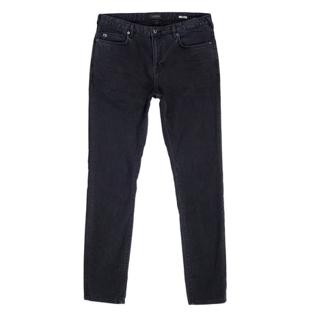 Scotch & Soda Washed Stretch Skinny Fit Black Jeans