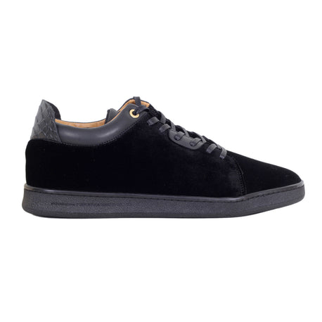 Android Homme Trainers Black Velvet Getty Low - Kitmeout