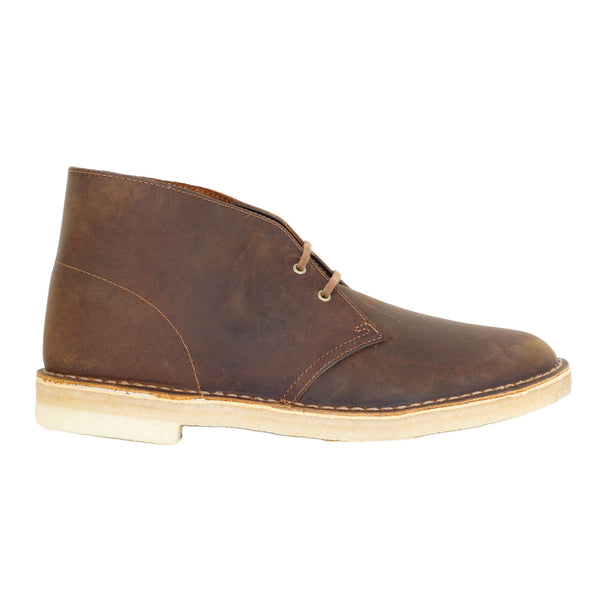 Clarks Boots Originals Premium Beeswax Leather Upper and Crepe Sole Desert Boots for Men - Kitmeout