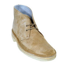 Clarks Originals Boots Oakwood Leather 26110058 Upper and Crepe Sole Desert Boots for Men - Kitmeout