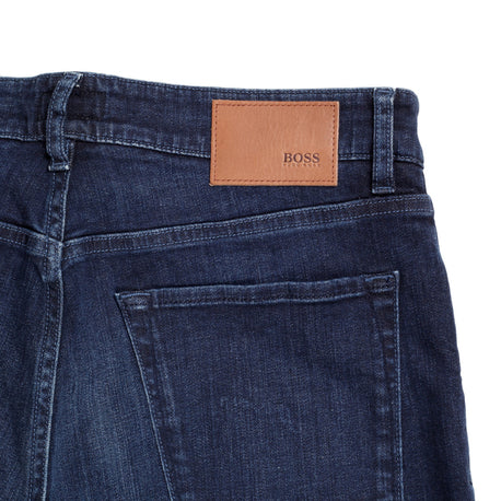 Maine 2 Hugo Boss Black Label Washed Dark Blue Jeans