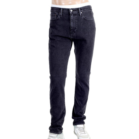 Levis Jeans 510 Skinny Fit Washed Black Stretch - Kitmeout