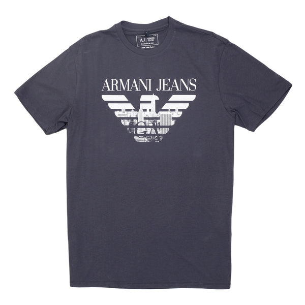 Armani Jeans Eagle Blue T Shirt