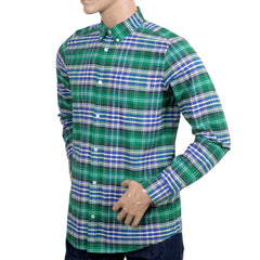 Carhartt Long Sleeve Regular Fit Red and Blue Resolution Lavitt Check Shirt