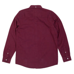 Carhartt Regular Fit Dalton Cranberry Long Sleeve Shirt