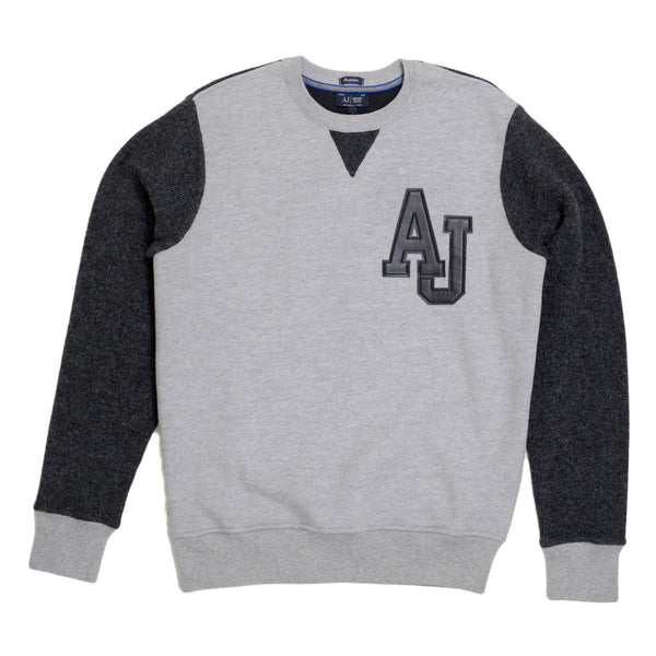 Armani Jeans Grey Crew Neck Sweatshirt