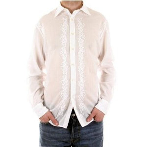 Paul Smith shirt men fashion white long sleeve shirt - Kitmeout