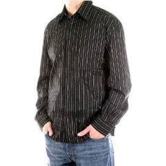 D&G shirt Dolce & Gabbana long sleeve black striped shirt - Kitmeout