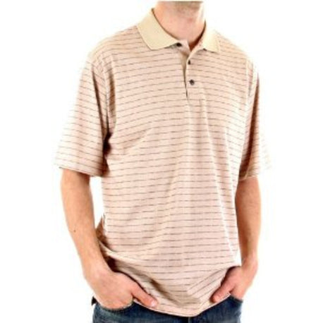 Burberry Polo Shirt stone 3 button - Kitmeout