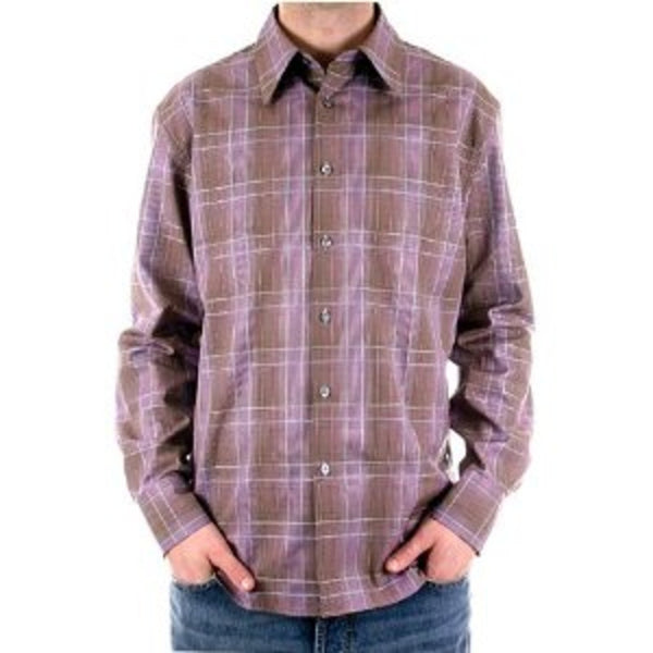 Paul Smith shirt mens check long sleeve shirt - Kitmeout