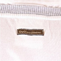 D&G t-shirt Dolce & Gabbana white slim fit top - Kitmeout