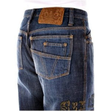 D&G jeans Dolce & Gabbana regular fit denim jean - Kitmeout