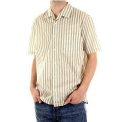 CP Company shirt mens short sleeve striped shirt - Kitmeout