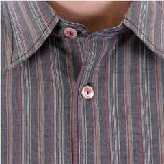 Armani Jeans mens striped shirt Made in Italy