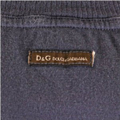 D&G t-shirt Dolce & Gabbana washed grey slim fit top - Kitmeout