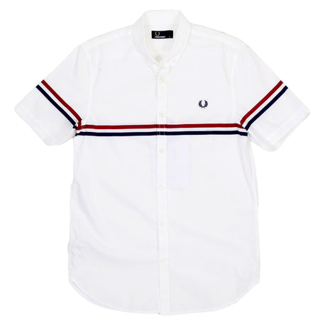 Fred Perry short sleeve white shirt - Kitmeout