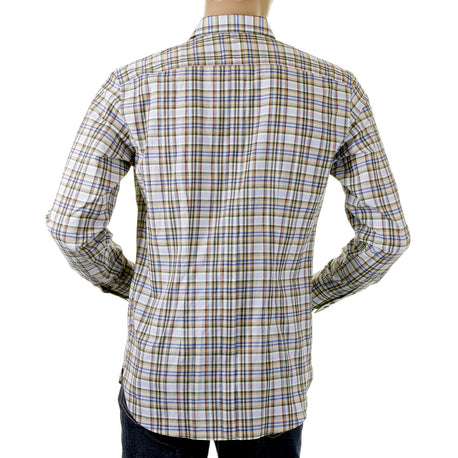 Paul Smith mens shirts long sleeve check shirt - Kitmeout