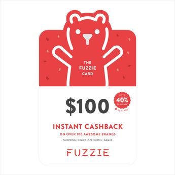 Fuzzie Card (Physical)- $100