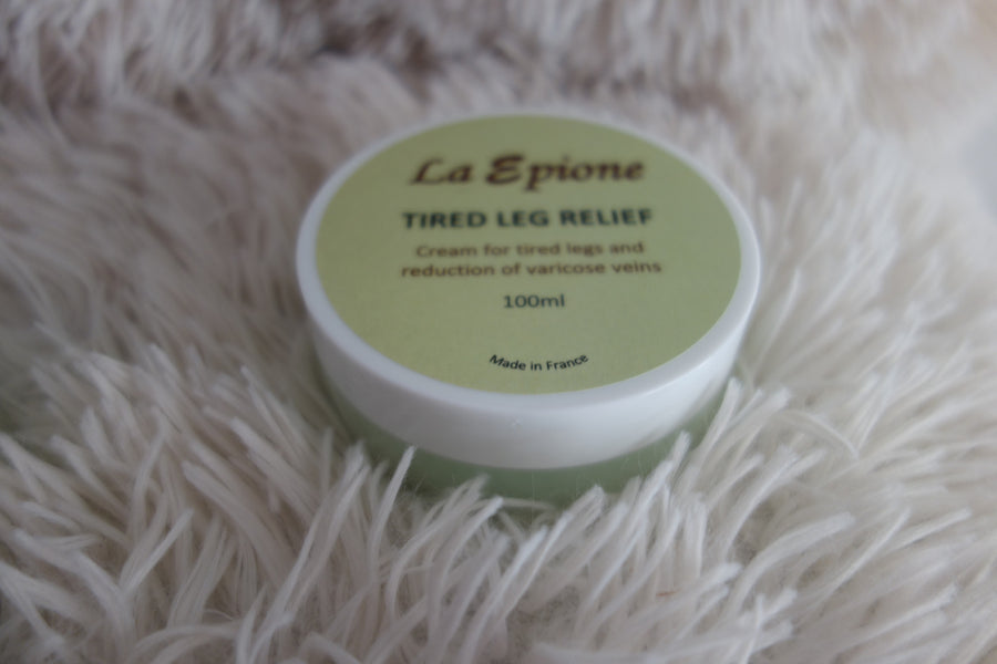 Launching La Epione's Tired Leg Relief