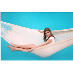 13-FT Long Handmade Yucatan Style Hammock in Natural Beige Color, Outdoor > Outdoor Furniture > Hammocks, Jimis Country Store - Jimis Country Store
