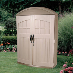 Tall Boy Outdoor Plastic Lawn Garden Tool Shed - 4ft x 2Ft x 6ft High, Outdoor > Storage Sheds, Jimis Country Store - Jimis Country Store