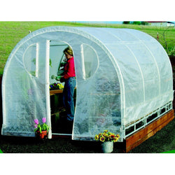 Polytunnel Hoop House Greenhouse (8' x 12'), Outdoor > Gardening > Greenhouses, Jimis Country Store - Jimis Country Store
