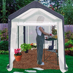 Home Gardener Portable Greenhouse (6' x 8'), Outdoor > Gardening > Greenhouses, Jimis Country Store - Jimis Country Store