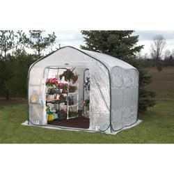 Farm-House Home Garden UV Resistant Greenhouse (9' x 9'), Outdoor > Gardening > Greenhouses, Jimis Country Store - Jimis Country Store