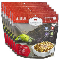 Wise Food Chili Macaroni Cook in the Pouch - 6 PACK, , Wise Company - Jimis Country Store
