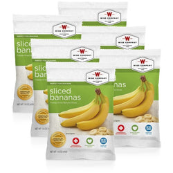 Wise Food Sliced Bananas - 6 PACK, , Wise Company - Jimis Country Store