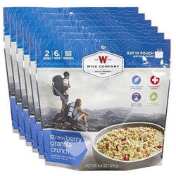 Wise Food Outdoor Strawberry Granola Crunch - 6 PACK, , Wise Company - Jimis Country Store