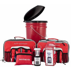 Guardian Survival Preparedness Package 4 Person Bucket Kit with Lantern  Home, Auto, Personal, , Guardian Survival - Jimis Country Store