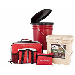 Guardian Survival Family Preparedness Package with Food Supply 4 Person Home, Auto, Personal, , Guardian Survival - Jimis Country Store