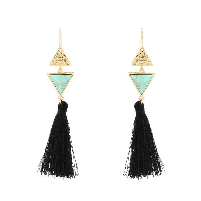 Casablanca Tassel Earrings
