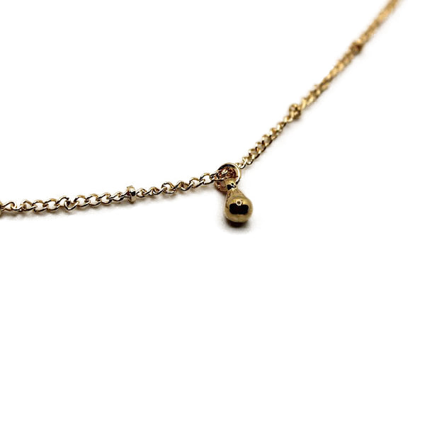 Golden Summer Nights Choker Necklace