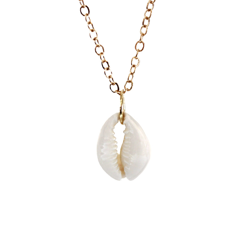 Calming Shell Boho Necklace