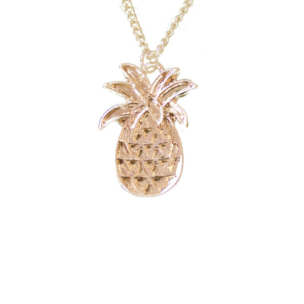 Multi Layer Pineapple Necklace
