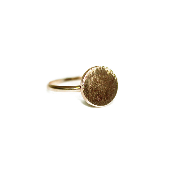 Antique Circle Boho Ring