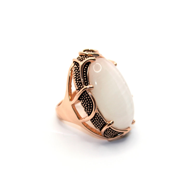 Cats Eye Stone Ring