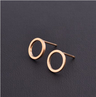 Cute Round Circle Earrings