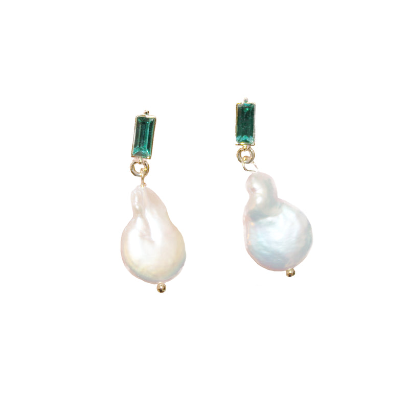 Pearl Drop Boho Earrings