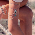 Boho Upper Arm Chain Cuff