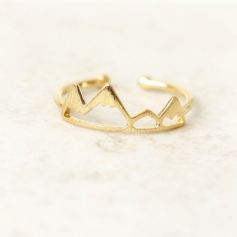 Golden Crown Ring